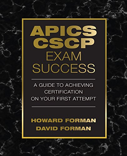 APICS CSCP Exam Success (J. Ross Publishing)