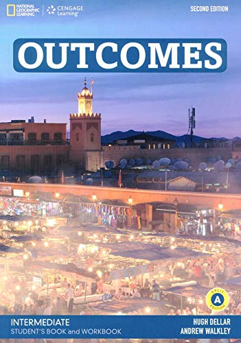 Outcomes - Second Edition: B1.2/B2.1: Intermediate - Student's Book and Workbook (Combo Split Edition A) + Audio-CD + DVD-ROM: Unit 1-8
