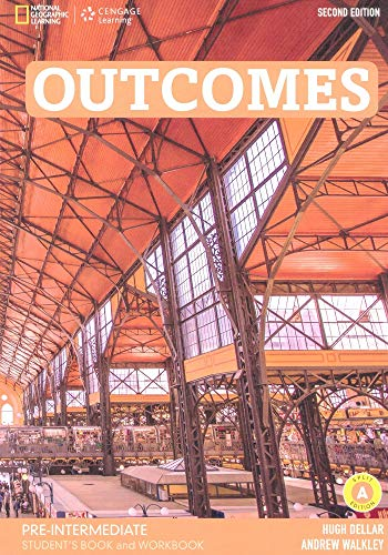 Outcomes - Second Edition: A2.2/B1.1: Pre-Intermediate - Student's Book and Workbook (Combo Split Edition A) + Audio-CD + DVD-ROM: Unit 1-8