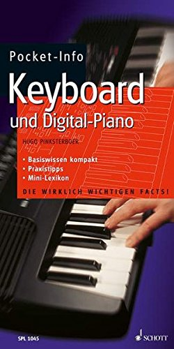 Pocket-Info, Keyboard und Digital-Piano