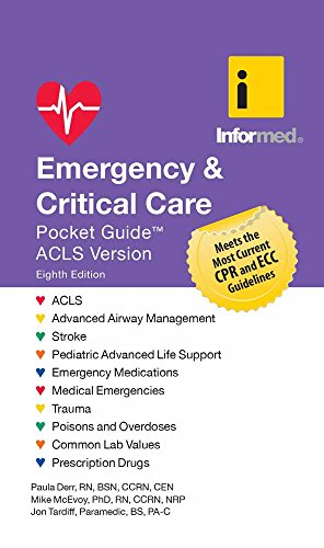 Emergency  &  Critical Care Pocket Guide von Jones and Bartlett Publishers, Inc