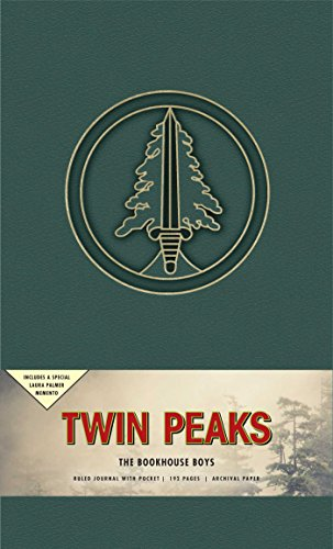 Twin Peaks the Bookhouse Boys Hardcover Ruled Journal (Stationery)