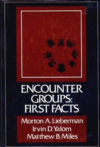 Encounter Groups 1st Facts: First Facts von Basic Books