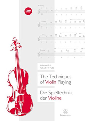 The Techniques of Violin Playing / Die Spieltechnik der Violine.Buch, DVD