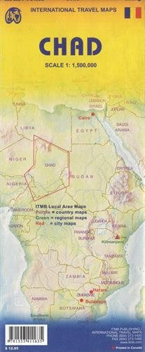 Chad: ITMB Afrika & Mittlerer Osten (International Travel Maps) von ITM