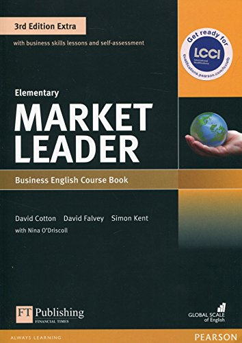 Market Leader Extra Elementary Coursebook with DVD-ROM Pack von Pearson Education