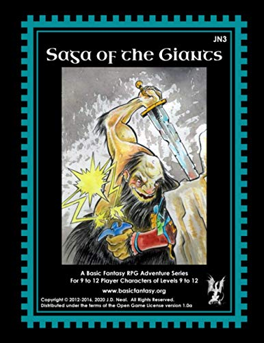 Saga of the Giants von CreateSpace Independent Publishing Platform