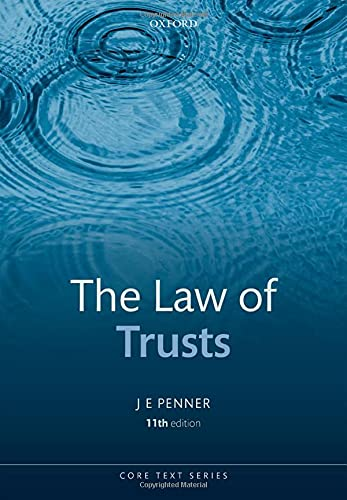 The Law of Trusts (Core Texts) von Oxford University Press