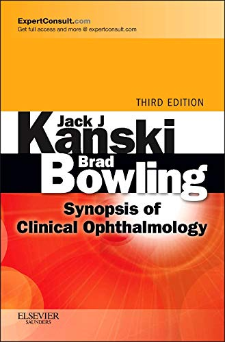 Synopsis of Clinical Ophthalmology: Expert Consult - Online and Print von Saunders Ltd.