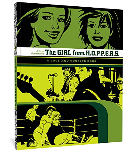 Girl From H.O.P.P.E.R.S.: A Love and Rockets Book von Fantagraphics Books