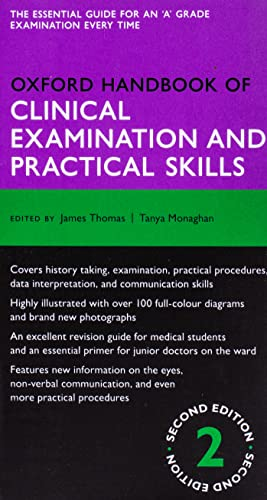 Oxford Handbook of Clinical Examination and Practical Skills (Oxford Handbooks)