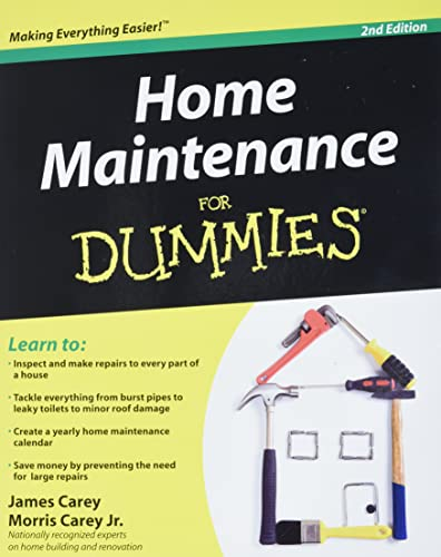 Home Maintenance For Dummies, 2nd Edition (For Dummies Series) von For Dummies