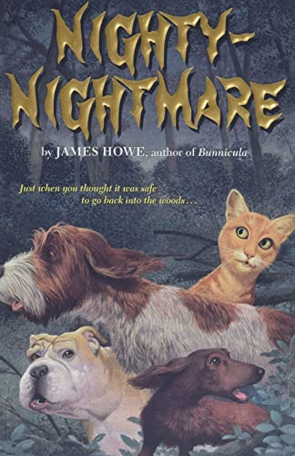Nighty-Nightmare (Bunnicula and Friends, Band 4) von Atheneum Books for Young Readers