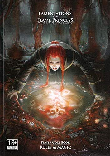Lamentations of the Flame Princess: Player Core Book: Rules & Magic von LAMENTATIONS OF THE FLAME PRIN