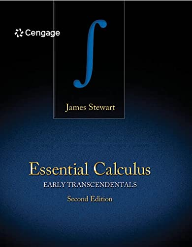 Stewart, J:  Essential Calculus: Early Transcendentals