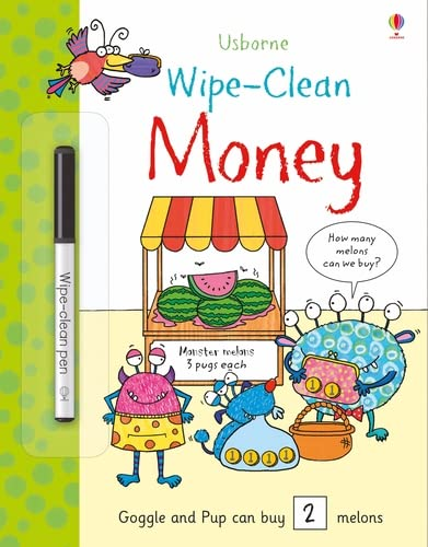 Bingham, J: Wipe-Clean Money (Wipe-clean Books)