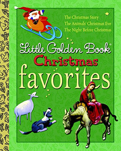 Little Golden Book Christmas Favorites (Little Golden Book Favorites) von Golden Books
