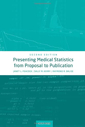 Presenting Medical Statistics from Proposal to Publication von Oxford University Press