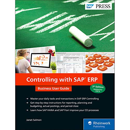 Controlling with SAP ERP: Business User Guide (SAP PRESS: englisch) von SAP Press