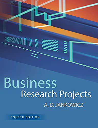 Business Research Projects von Cengage Learning