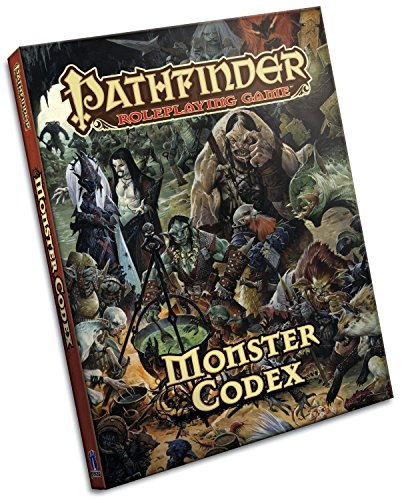 Pathfinder Roleplaying Game: Monster Codex von Paizo Publishing