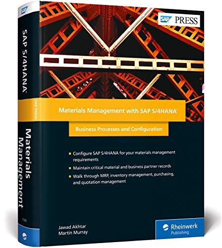 Materials Management with SAP S/4HANA: Business Processes and Configuration (SAP PRESS: englisch) von Rheinwerk Verlag