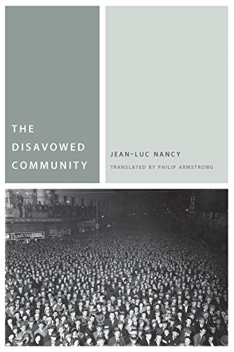 The Disavowed Community (Commonalities) von Fordham University Press