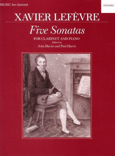 5 Sonatas from Methode de Clarinette (1802) : für Klarinette und Klavier von Oxford University Press Distribution Services