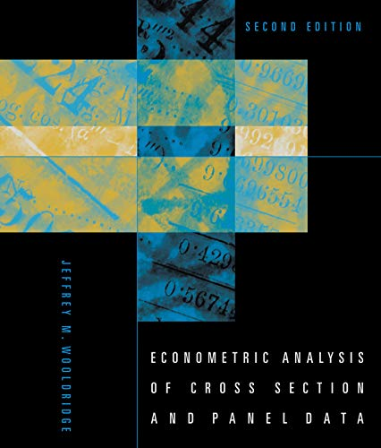 Econometric Analysis of Cross Section and Panel Data, second edition (Mit Press)