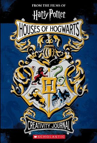 Houses of Hogwarts Creativity Journal (Harry Potter) von Scholastic Ltd.