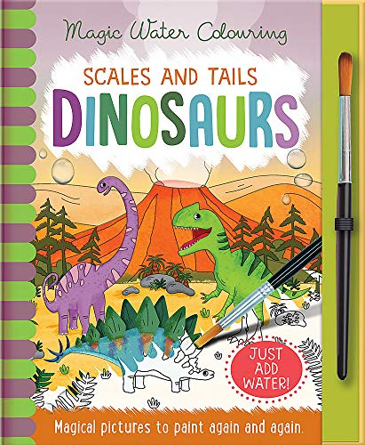 Scales and Tails - Dinosaurs (Magic Water Colouring) von Imagine That Publishing Ltd