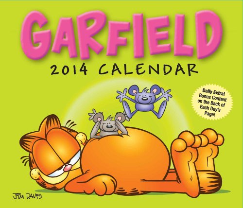 Garfield 2014 Day-to-Day Calendar von Andrews McMeel Publishing