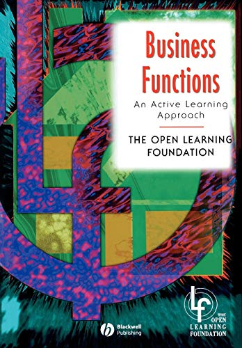 Business Functions: An Active Learning Approach (In Charge Series)