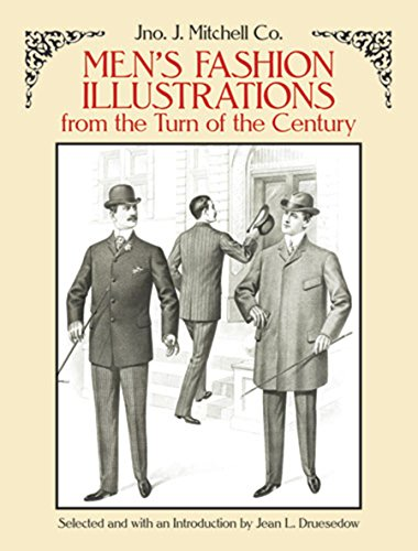 Men's Fashion Illustrations from the Turn of the Century (Dover Pictorial Archives) (Dover Pictorial Archive Series) von Dover Publications Inc.