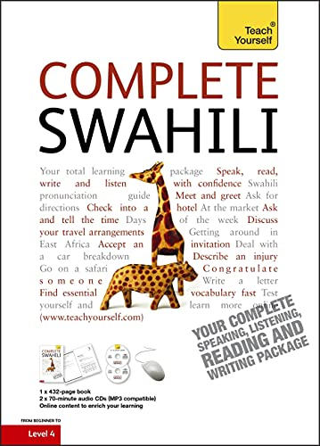 Complete Swahili Beginner to Intermediate Course: (Book and audio support) (Teach Yourself) von Hodder Education