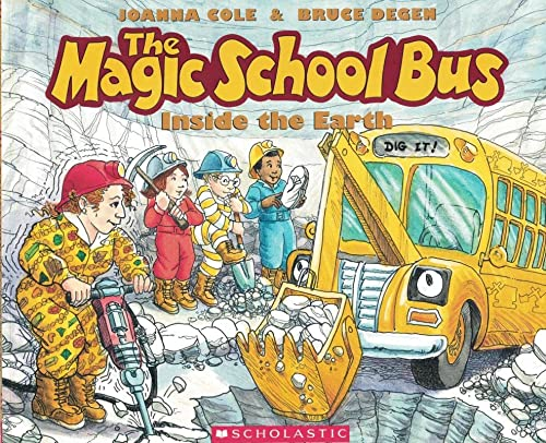 MSB-INSIDE THE EARTH (THE MAGI (The Magic School Bus)