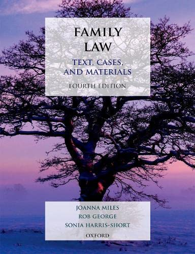 Family Law: Text, Cases, and Materials von Oxford University Press