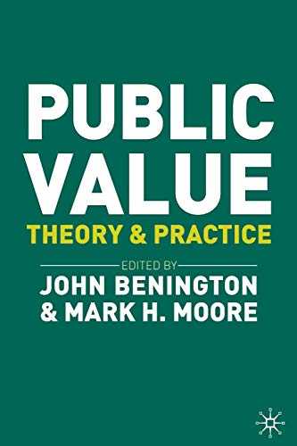 Public Value: Theory and Practice von Red Globe Press