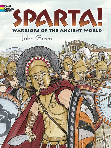 Sparta! (Dover Colouring Books) (Dover Coloring Book) von DOVER PUBN INC