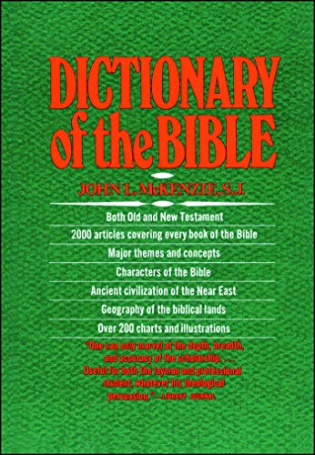 The Dictionary Of The Bible von Touchstone