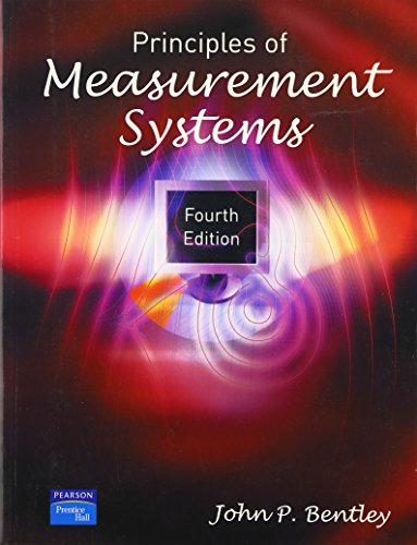 Principles of Measurement Systems