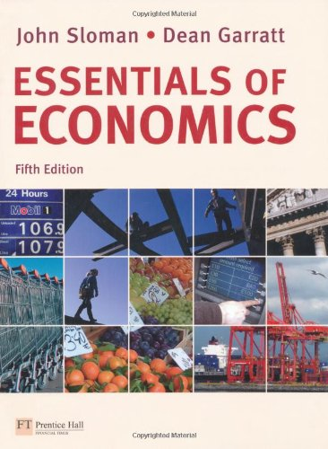 Essentials of Economics with MyEconLab von Financial Times Prentice Hall