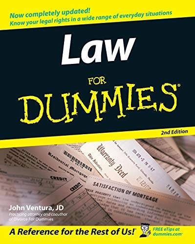 Law for Dummies 2nd Edition