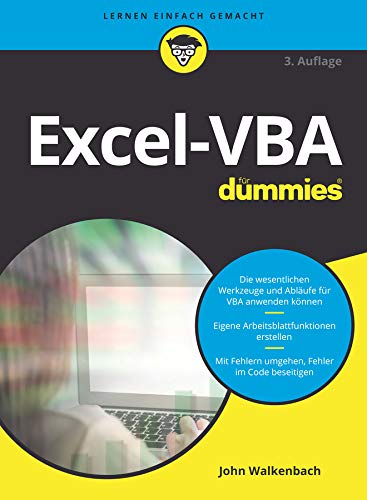 Excel-VBA für Dummies von Wiley-Vch Dummies; Wiley-Vch