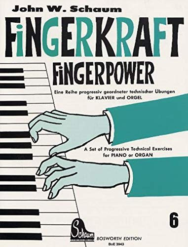 Fingerkraft 6 von Bosworth Edition