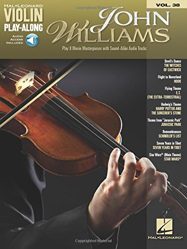 John Williams: Violin Play-Along Volume 38 (Hal Leonard Violin Play-Along, Band 38) von HAL LEONARD PUB CO