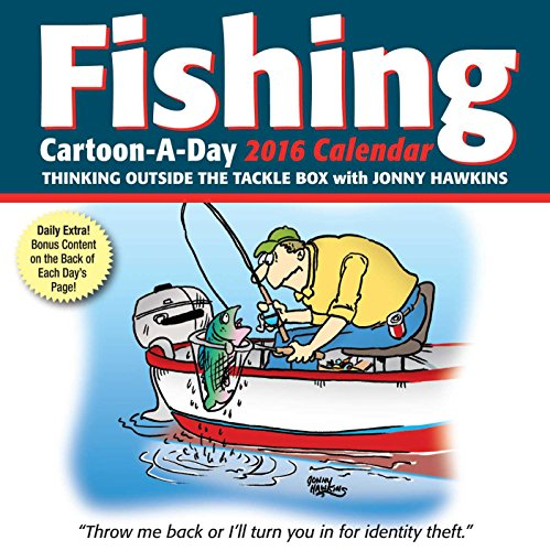 Fishing Cartoon-a-Day 2016 Calendar: Thinking Outside the Tackle Box von Andrews McMeel Publishing