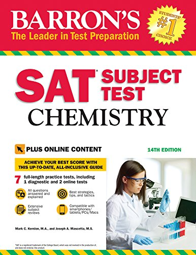SAT Subject Test: Chemistry with Online Tests (Barrons Sat Subject Test) von Barrons Educational Series