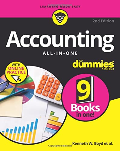 Accounting All-in-One For Dummies: with Online Practice (For Dummies (Business & Personal Finance)) von For Dummies