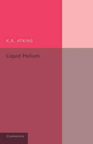 Liquid Helium von Cambridge University Press